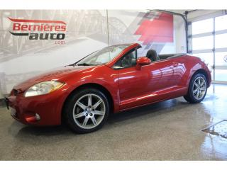 Used 2008 Mitsubishi Eclipse SPYDER CONVERTIBLE GT 3.8L for sale in Lévis, QC