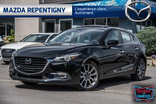 Used 2018 Mazda MAZDA3 Sport 2018 Mazda Mazda3 Sport - GT Auto Cuir Blanc for sale in Repentigny, QC