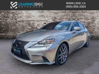 Used 2015 Lexus IS 350 F Sport Series 3 for sale in Woodbridge, ON