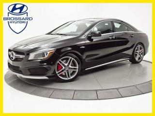 Used 2015 Mercedes-Benz CLA-Class 45 AMG, AWD NAV, TOIT PANO for sale in Brossard, QC