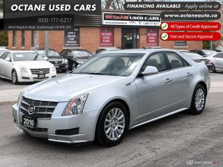 Used 2010 Cadillac CTS 3.0 AWD! Ontario Vehicle! for sale in Scarborough, ON