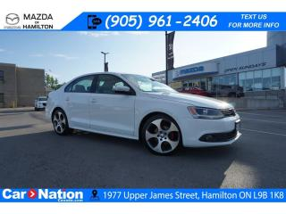 Used 2013 Volkswagen Jetta SPORTLINE | AS-TRADED | LEATHER | SUNROOF for sale in Hamilton, ON