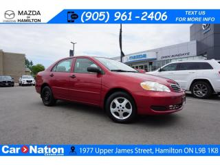 Used 2007 Toyota Corolla CE | AS-TRADED | CRUISE CONTROL | A/C for sale in Hamilton, ON