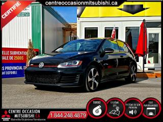 Used 2016 Volkswagen Golf GTI AUTOBAHN TOIT PANO + HID + APPLE CARPLAY for sale in Blainville, QC