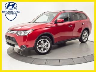 Used 2015 Mitsubishi Outlander ES, CUIR, TOIT OUVRANT, CAM DE RECUL for sale in Brossard, QC