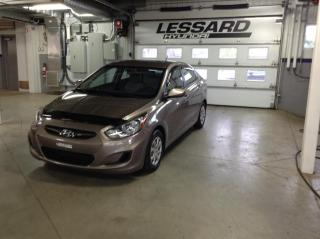 Used 2013 Hyundai Accent Berline 4 portes, boîte auto GL *Disp. l for sale in Québec, QC