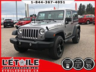 Used 2014 Jeep Wrangler SPORT, DEMARREUR A DISTANCE, MAGS for sale in Jonquière, QC