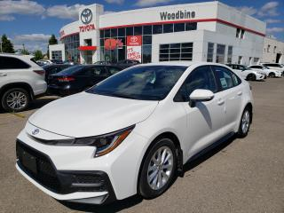 New 2020 Toyota Corolla SE SAVE BIG ON THIS DEMO MODEL! CALL FOR DETAILS for sale in Etobicoke, ON