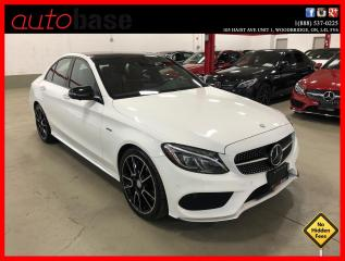 Used 2016 Mercedes-Benz C-Class C450 AMG 4MATIC HUD DISTRONIC FULLY LOADED! RED IN for sale in Vaughan, ON