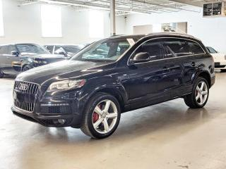 Used 2012 Audi Q7 TDI/S LINE/VENTILATED SEATS/NAVI/7PASS/BLIND SPOT ASSIST! for sale in Toronto, ON
