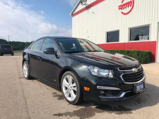 Used 2016 Chevrolet Cruze LT RS PACKAGE for sale in Tillsonburg, ON