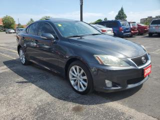 Used 2009 Lexus IS 250 4DR SDN AUTO AWD for sale in Scarborough, ON