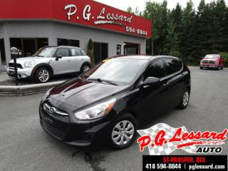 Used 2015 Hyundai Accent Gl siège chauffant démarreur a distance for sale in St-Prosper, QC