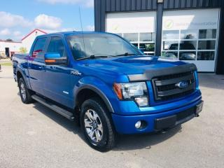 Used 2013 Ford F-150 FX4, Soft Tonneau, B/U Camera for sale in Ingersoll, ON