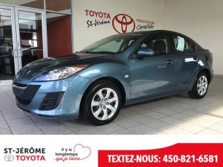 Used 2010 Mazda MAZDA3 * * AIR * 145 000 KM * for sale in Mirabel, QC