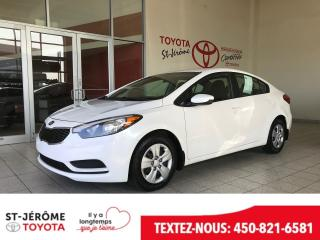Used 2014 Kia Forte *AUTOMATIQUE * AIR * GR ÉLEC * for sale in Mirabel, QC