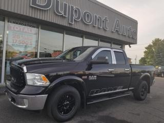 Used 2013 RAM 1500 Cabine quad 4RM, 140,5 po SLT for sale in Alma, QC