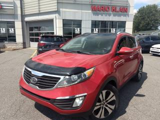 Used 2011 Kia Sportage EX Luxury w/Navigation * NAV * CUIR * TOIT * for sale in Mcmasterville, QC
