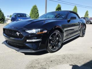 Used 2019 Ford Mustang GT haut niveau Convertible automatique C for sale in St-Eustache, QC