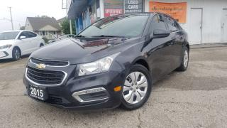 Used 2015 Chevrolet Cruze 1LT - Sunroof, Pioneer Sound, Certified for sale in Mississauga, ON