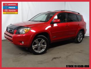Used 2008 Toyota RAV4 Sport V6+AWD+REGVIT++ for sale in Drummondville, QC