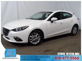 Used 2015 Mazda MAZDA3 Sport GS|SIEGCHAUF|TOITOUV|MAG|CAMÉRA| for sale in Drummondville, QC
