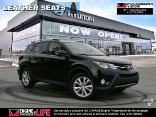 Used 2015 Toyota RAV4 LIMITED  - $121.00 /Wk for sale in Nepean, ON