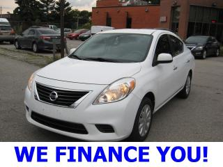 Used 2012 Nissan Versa 1.6 SV for sale in Toronto, ON