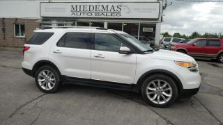 Used 2011 Ford Explorer LIMITED for sale in Mono, ON