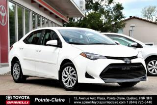 Used 2017 Toyota Corolla LE BAS KM! for sale in Pointe-Claire, QC