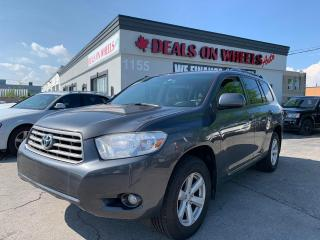 Used 2010 Toyota Highlander SE for sale in Oakville, ON