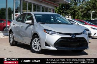 Used 2017 Toyota Corolla LE TRÈS BAS KM! for sale in Pointe-Claire, QC