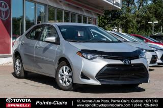 Used 2017 Toyota Corolla CE DEMARREUR A DISTANCE for sale in Pointe-Claire, QC