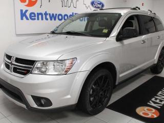 Used 2012 Dodge Journey R/T AWD with power heated leather seats and auto start/stop for sale in Edmonton, AB
