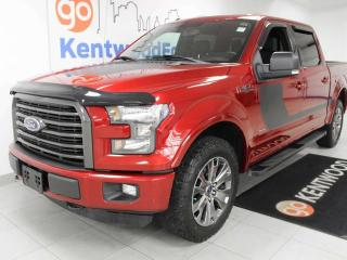 Used 2016 Ford F-150 XLT 4X4 with keyless entry, power heated seats, back up cam, and NAV for sale in Edmonton, AB