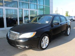 Used 2013 Chrysler 200 TOUR HEATED SEATS CRUISE CONTROL STAT RADIO for sale in Edmonton, AB