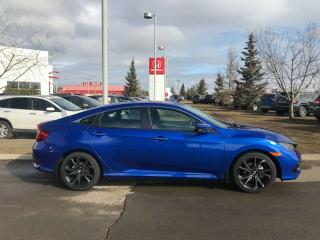 Used 2019 Honda Civic Sedan Sport Back Up Camera Heated Seats Sunroof for sale in Red Deer, AB