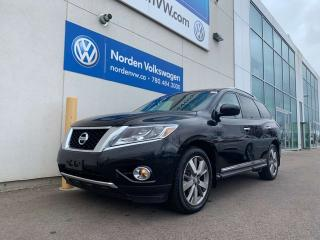 Used 2015 Nissan Pathfinder PLATINUM 4WD - LOADED for sale in Edmonton, AB