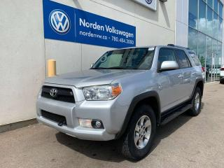 Used 2013 Toyota 4Runner SR5 4WD for sale in Edmonton, AB