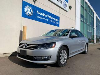 Used 2013 Volkswagen Passat 2.0L TDI TRENDLINE / VW CERTIFIED / HEATED SEATS for sale in Edmonton, AB