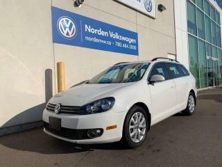 Used 2013 Volkswagen Golf Wagon 2.0L TDI COMFORTLINE - LEATHER / HEATED SEATS for sale in Edmonton, AB