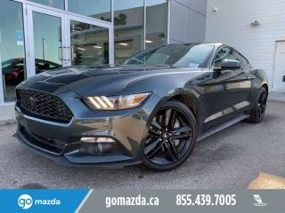Used 2015 Ford Mustang ECO AUTO POWER OPTIONS RARE COLOR for sale in Edmonton, AB