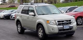 Used 2009 Ford Escape Limited for sale in Mississauga, ON