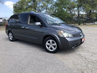 Used 2007 Nissan Quest Low Km,7 Passanger,Auto,3/Y warranty available for sale in Toronto, ON