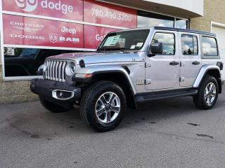 New 2020 Jeep Wrangler Unlimited Sahara for sale in Edmonton, AB