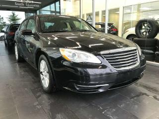 Used 2013 Chrysler 200 LX, ACCIDENT FREE, CRUISE CONTROL, A/C, STEERING WHEEL CONTROLS for sale in Edmonton, AB
