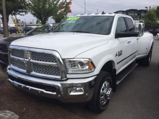 Used 2018 Dodge Ram 3500 Laramie Dually for sale in Langley, BC