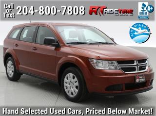 Used 2014 Dodge Journey Canada Value Pkg for sale in Winnipeg, MB