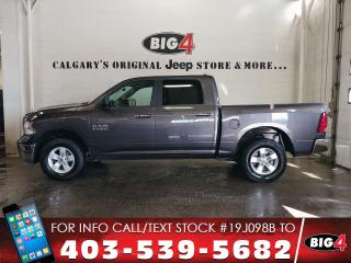 Used 2017 RAM 1500 SLT | CREW | 6 Seats | Hitch | V6 for sale in Calgary, AB