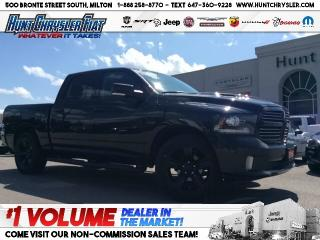 Used 2016 RAM 1500 SPORT | CREW | HOOD | CAM | BLACKOUT!!! for sale in Milton, ON